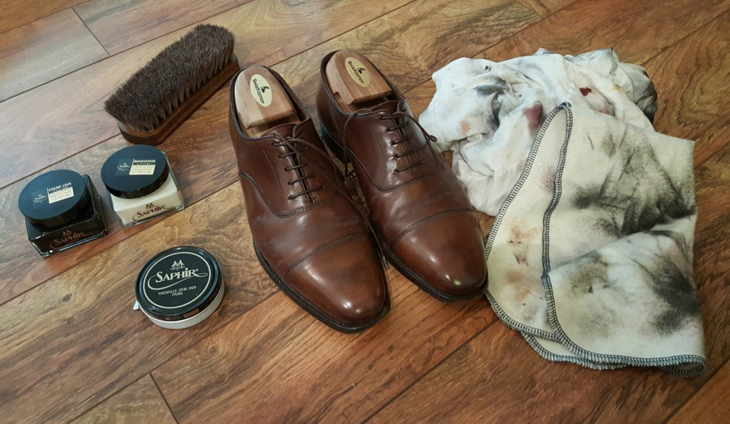 basic shoe leather care for the busy individual chosn